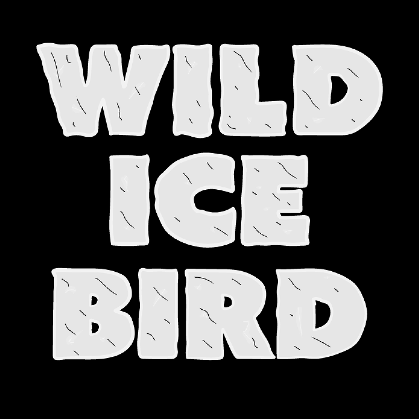 Wild Ice Bird Square Logo